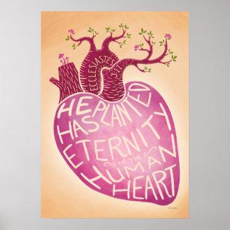 Él ha plantado eternidad en el corazón humano póster