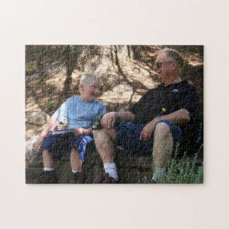 El hablar con el rompecabezas del abuelo