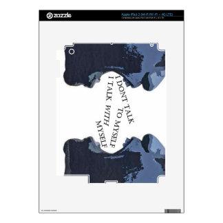 EL HABLAR CONMIGO MISMO iPad 3 SKIN