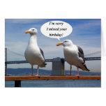 El hablar de las gaviotas tarjetas