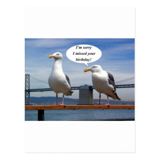 El hablar de las gaviotas tarjetas postales