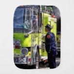 El hablar de los bomberos paños de bebé