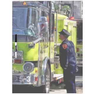 El hablar de los bomberos tablero blanco