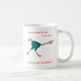 El hablar del ganso tazas de café