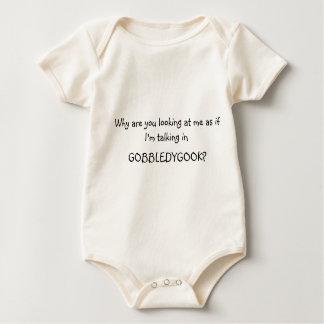 El hablar en enredadera del bebé del guirigay body para bebé