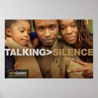 El hablar > poster de la familia del silencio