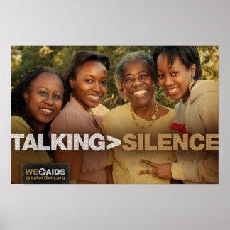 El hablar > poster de las generaciones del silenci