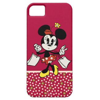 El hacer compras de Minnie Mouse Funda Para iPhone SE/5/5s
