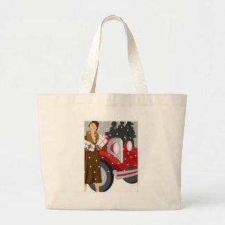 El hacer compras en la nieve bolsas