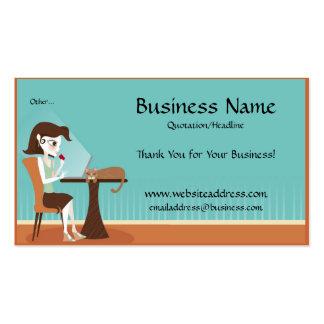 El hacer compras en línea/tarjetas de visita del o tarjetas de visita