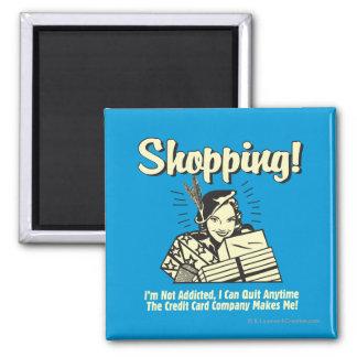 El hacer compras: No soy adicto Imán Cuadrado