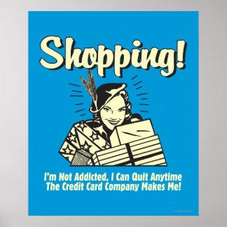 El hacer compras: No soy adicto Impresiones