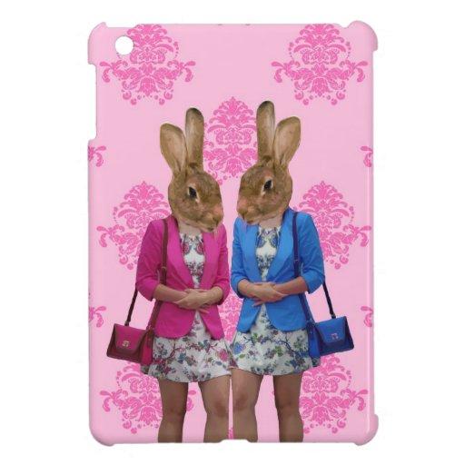 El hacer compras que va de los chicas divertidos d iPad mini fundas
