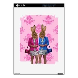 El hacer compras que va de los chicas divertidos d skin para el iPad 2