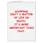 el hacer compras tarjeton