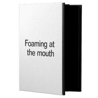 el hacer espuma en la boca
