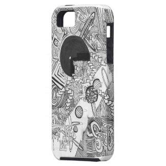 ¡El hacer estallar del ojo! iPhone 5 Carcasa