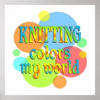 El hacer punto colorea mi mundo