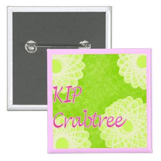 El hacer punto de Crabtree del KIP Pin Cuadrado