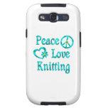 El hacer punto del amor de la paz samsung galaxy s3 funda