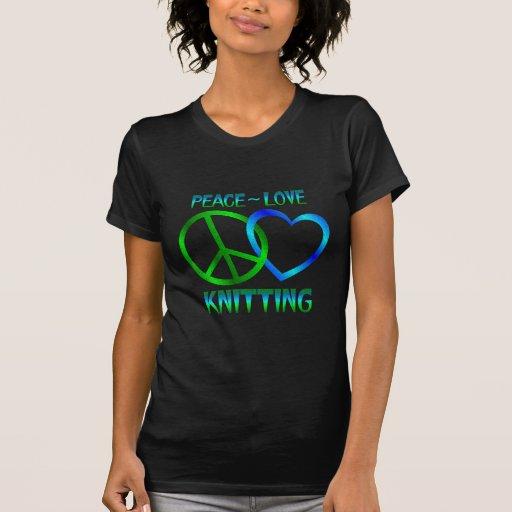 El HACER PUNTO del amor de la paz Playeras