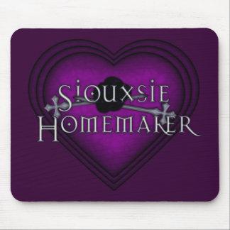 El hacer punto del casero de Siouxsie (violeta) Alfombrilla De Raton