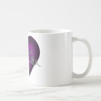 El hacer punto del casero de Siouxsie (violeta) Taza Básica Blanca