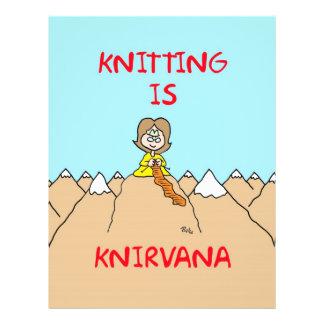 el hacer punto es gurú del knirvana tarjetas publicitarias