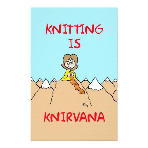 el hacer punto es gurú del knirvana papelería