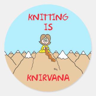 el hacer punto es gurú del knirvana