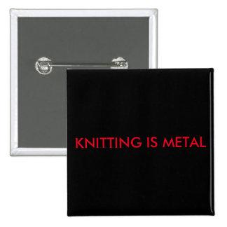 El hacer punto es Pin del cuadrado del metal