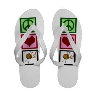 El hacer punto lindo sandalias