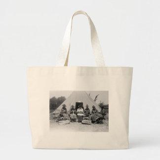 El hacer punto para la causa: 1916 bolsa tela grande