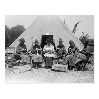 El hacer punto para la causa: 1916 postales