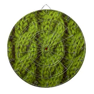 El hacer punto verde del cable tabla dardos