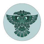 El Haida azul dos dirigió el pájaro del alcohol Fichas De Póquer