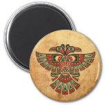 El Haida envejecido y llevado dos dirigió el pájar Imán Para Frigorifico