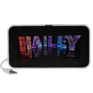 El Hailey conocido en 3D se enciende (la fotografí Altavoz De Viaje