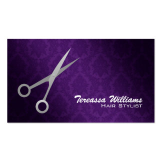 El Hairstylist Scissors tarjetas de visita
