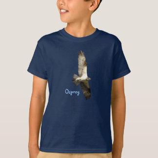 El halcón de pescados de elevación de Osprey Playera