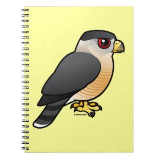 El halcón del tonelero libretas espirales