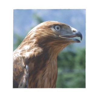 El halcón domesticado bloc de papel