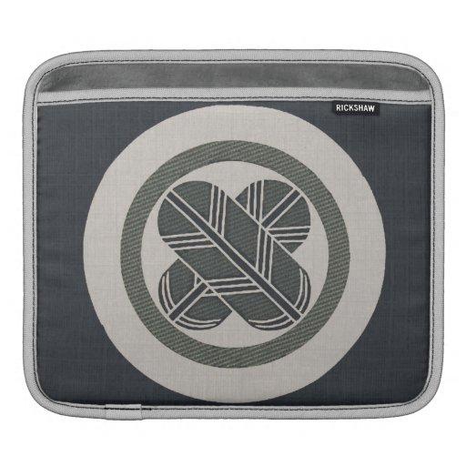 El halcón empluma la manga del iPad del escudo Funda Para iPads