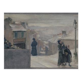 El hambre entre 1870-71, 1889 postales
