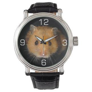 El hámster reloj de mano