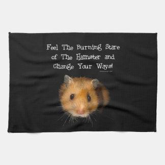 El hámster toalla