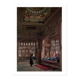 El Harem de jeque Sadat, El Cairo, 1870 Postal