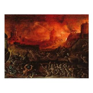 El Harrowing del infierno Tarjeta Postal