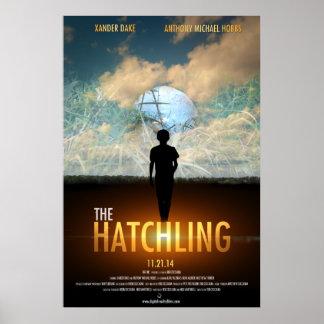 El Hatchling - cartel de película Póster