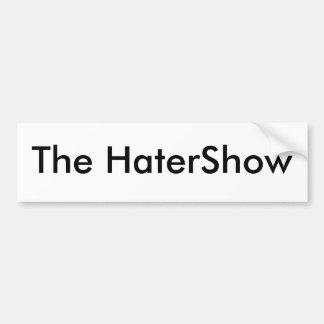 El HaterShow Etiqueta De Parachoque